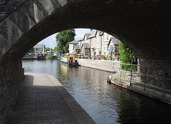 Bridge 167, Theatre Basin, Monmouthshire-Brecon Canal, Brecon 23 August 2017