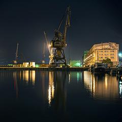 night cranes - 3