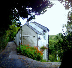 Cottages at Crosscombe, St Agnes, Cornwall