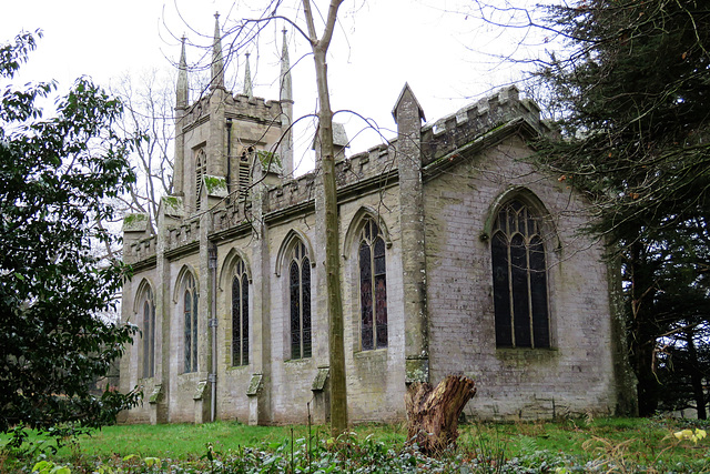 the new chapel, brockhampton park estate, herefs