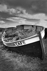 Harbour Cafe Rowing Boat, St Andrews