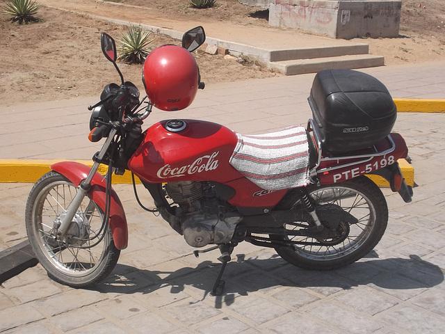 Moto Coca-Cola !