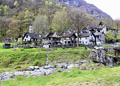 Foroglio im Bavonatal (Tessin)