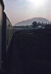 Richtung Bankok 1981