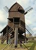 Auf der Rückfahrt vom Harz-Treffen:   Bockwindmühle Danstedt