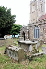 John and Mary Wade memorial churchyard, Halesworth, Suffolk
