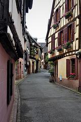 Another empty street!!  Ribeauvillé, France