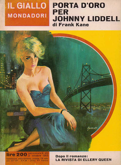Frank Kane - Porta D'oro Per Johnny Liddell