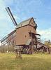 Auf der Rückfahrt vom Harz-Treffen:  Die  Bockwindmühle Danstedt