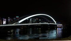 le pont Raymond Barre - Lyon - la confluence