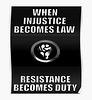 Wenn Unrecht zu Recht wird, wird Widerstand zur Pflicht