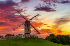 Windmill in Damme