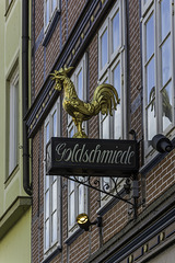 Goldschmiede, Hahn