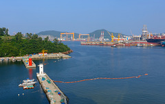 Okpo Harbour and DSME