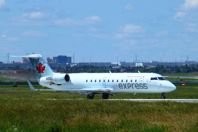 C-GTJA at Toronto - 24 June 2017