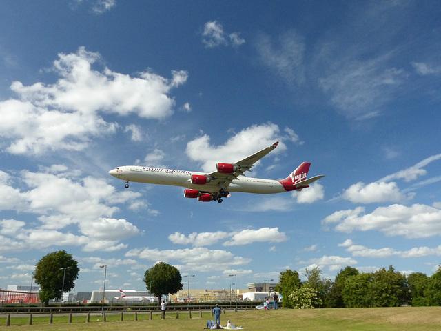 G-VRED approaching Heathrow - 6 June 2015