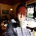 DE - Simmerath - me, having a coffee at Einruhr