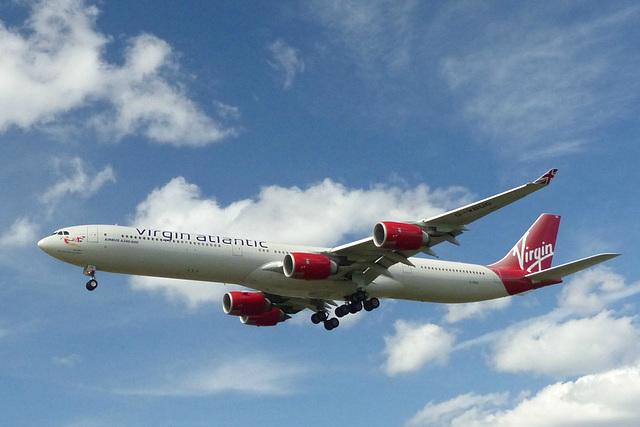 G-VBUG approaching Heathrow - 6 June 2015