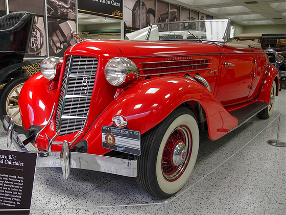1935 Supercharged Auburn 851 Cabriolet