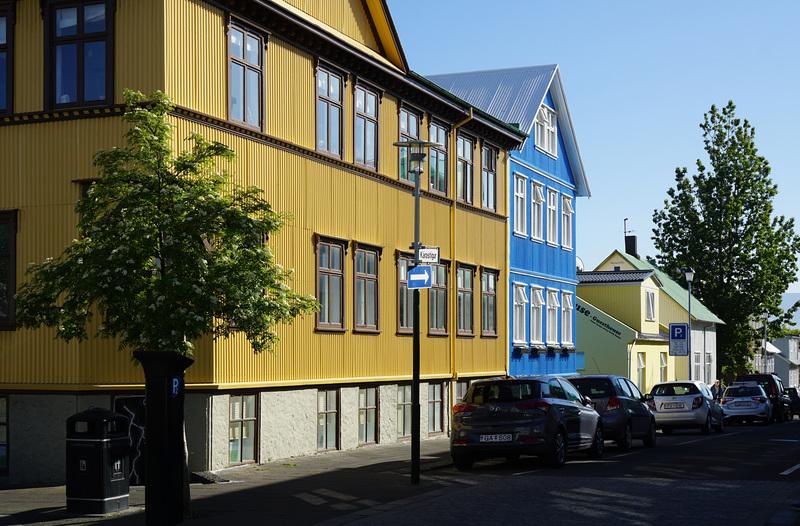 Reykjavik Hauszeile