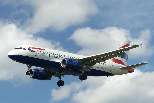 G-EUOF approaching Heathrow - 6 June 2015