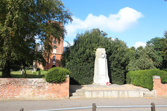 War Memorial, Grundisburgh, Suffolk