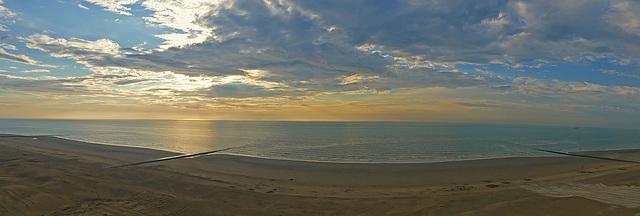 North Sea Westende Belgium