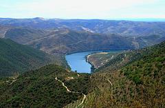 Landscape in border, Barca de Alva