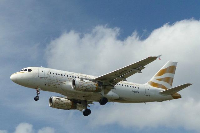 G-EUPH approaching Heathrow - 6 June 2015