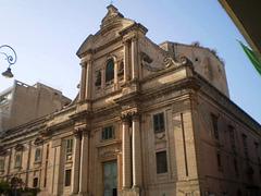 Abbey's façade.