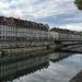 BESANCON: Le doubs, le quai Vauban, le pont Battant.