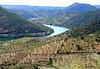 International Douro River in Barca de Alva