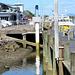 At  Whakatane Wharf,