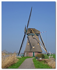 """Drainage mill """"De Achtkante Molen"""" anno 1805"""