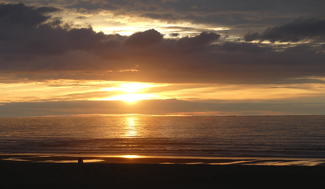 Westende sunset