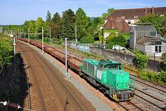 Ex-BB 61000 à Besançon