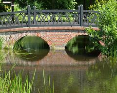 Brücke beim Schloss Ludwigslust