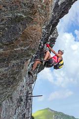 Im Tristkogel-Klettersteig