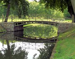 Brücke im Schweriner Schlossgarten