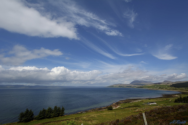 An Isle of Arran landscape