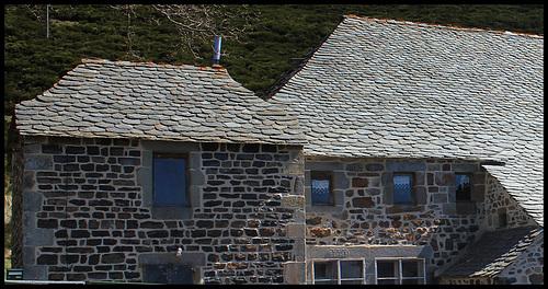 les toits de lauzes