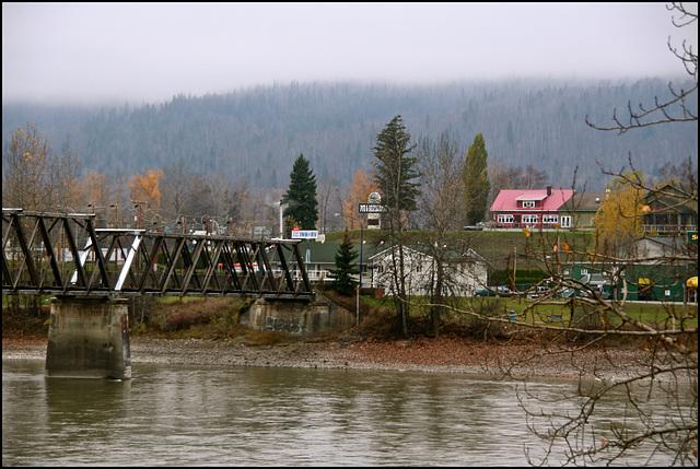 Fraser River at Quesnel, BC