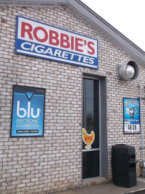 Fumer en bleu