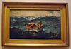 The Gulf Stream by Winslow Homer in the Metropolitan Museum of Art, February 2013