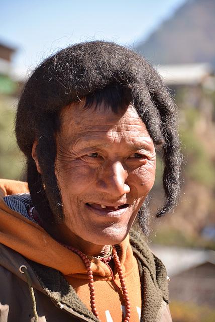Monpa(Tibetan)man