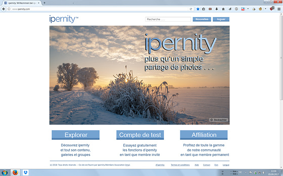 Nouvelle ipernity-Homepage - Éditorial final