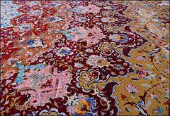 Abu Dhabi : Il più grande tappeto fatto a mano nel mondo all'interno della moskea Zayed - 7.119 mq