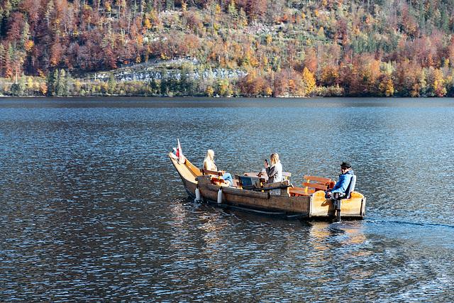 On Lake Hallstatt