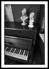 Sur le piano