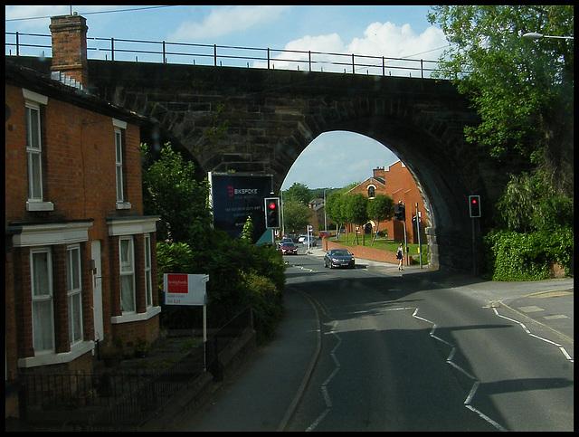 Northwich railway bridge